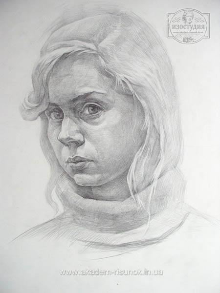 Какими карандашами рисовать портрет