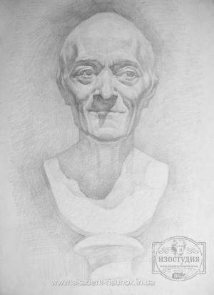 Как рисовать портрет карандашом поэтапно